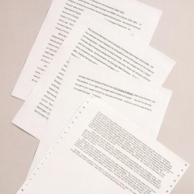 无酸性雷射标签贴纸,无酸书写纸